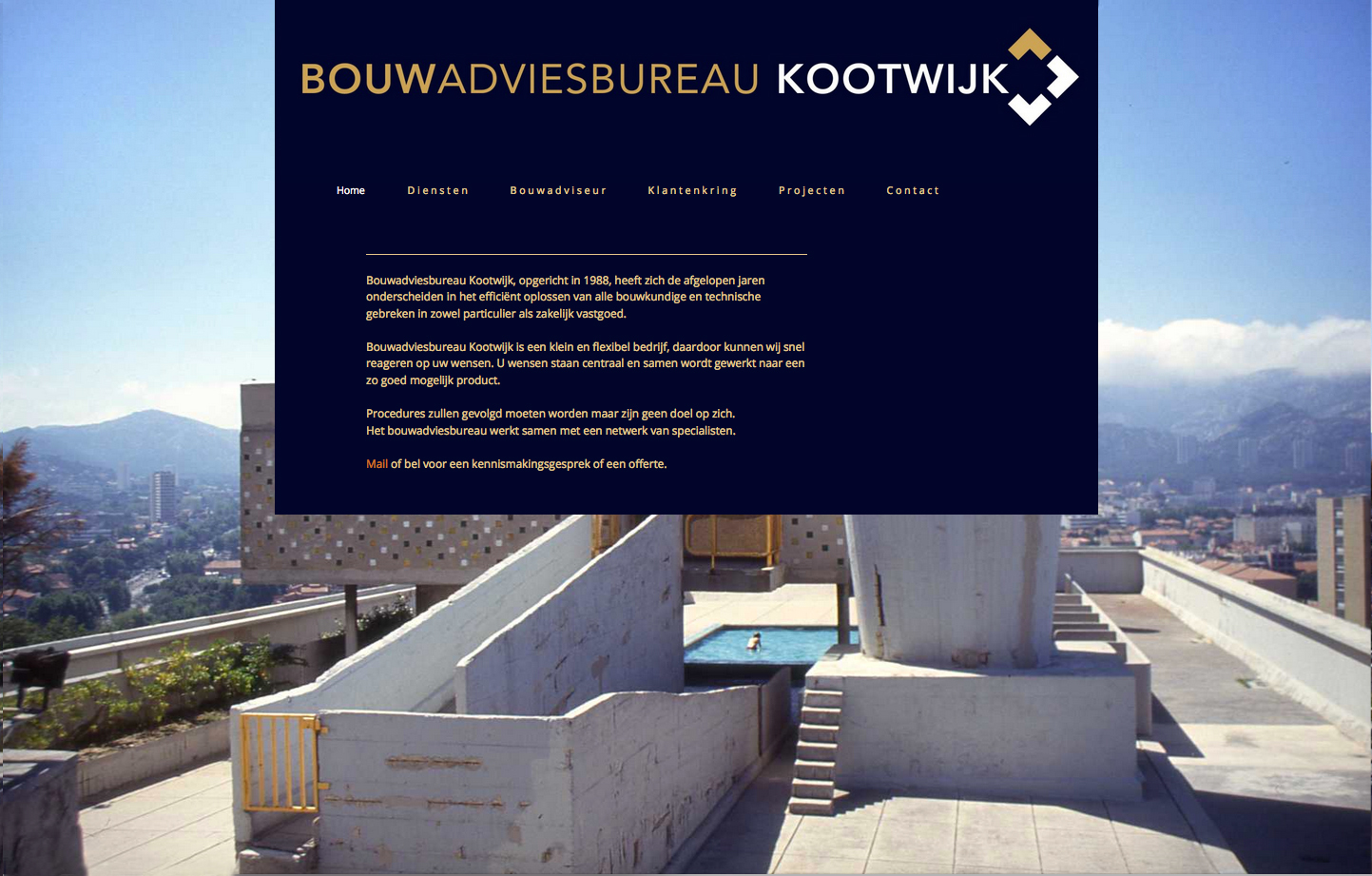 K site bouwadvies website